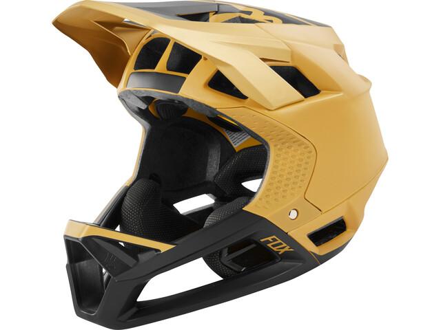 Fox Proframe Matte Full Face Helmet Herre gold